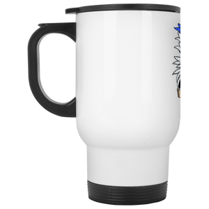 Atlee coat of arms XP8400W White Travel Mug