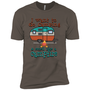 Smell Like A Campfire Next Level Premium Short Sleeve Tee