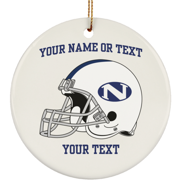 N helmet SUBORNC Ceramic Circle Ornament