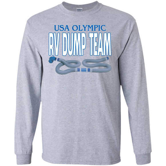 Dump Team LS Ultra Cotton Tshirt