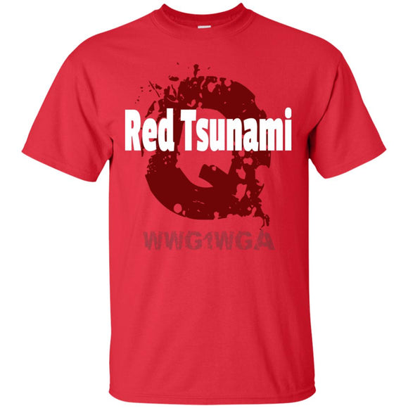 Red tsunami G200 Gildan Ultra Cotton T-Shirt