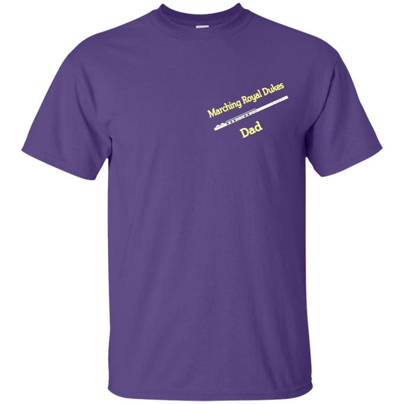 MRD Flute Dad Relay 4 LIfe G200 Gildan Ultra Cotton T-Shirt