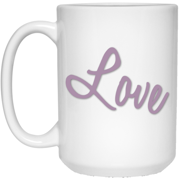 love 21504 15 oz. White Mug