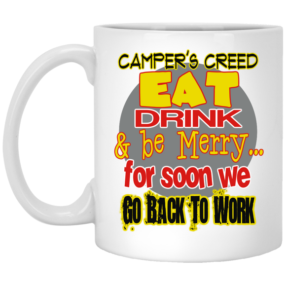 Camper's Creed 11 oz. Mug