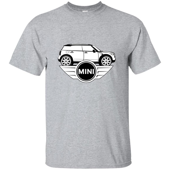 mini sil logo G200 Gildan Ultra Cotton T-Shirt