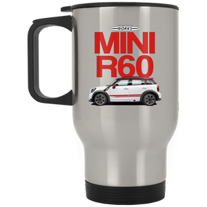 Jcw r60 2 XP8400S Silver Stainless Travel Mug