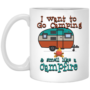 Smell Like A Campfire 11 oz. Mug