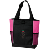 Live Love Colorblock Tote Bag