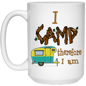 I camp2 21504 15 oz. White Mug