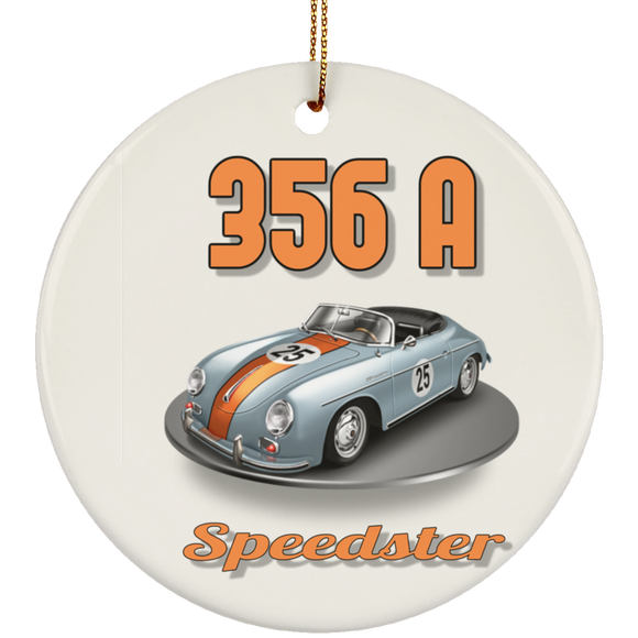 356a speedster2 SUBORNC Ceramic Circle Ornament