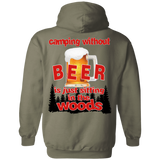 without beer 1kx1k G185 Gildan Pullover Hoodie 8 oz.