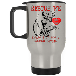 Rescue me XP8400S Silver Stainless Travel Mug