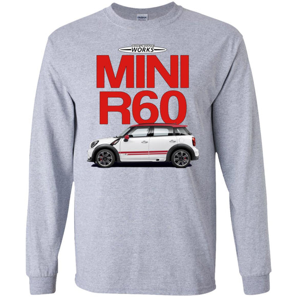 Jcw r60 2 G240 Gildan LS Ultra Cotton T-Shirt