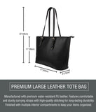 Forget Me Not Large Leather Tote