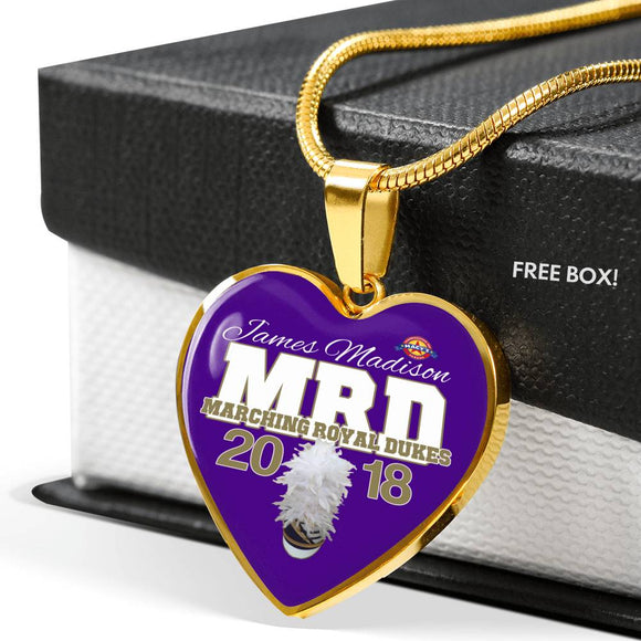 MRD Commemorative Heart Necklace 2018