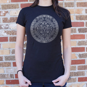 Ladies Aztec Calendar T-Shirt