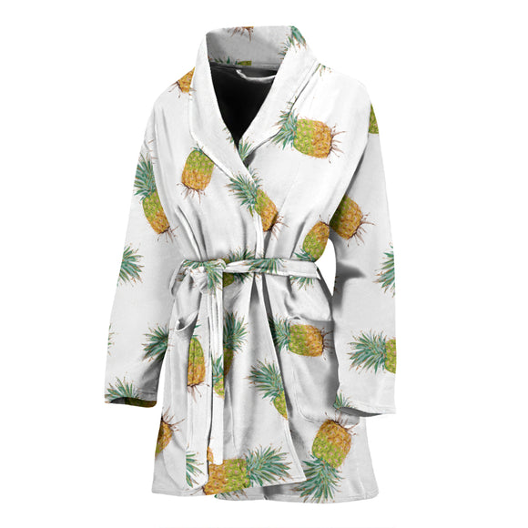 Pineapple WOMEN'S BATHROBE