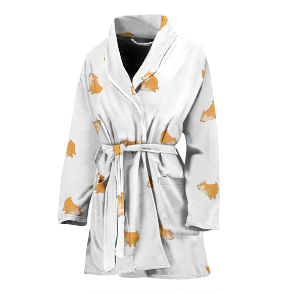 Shiba Dog WOMEN'S BATHROBE