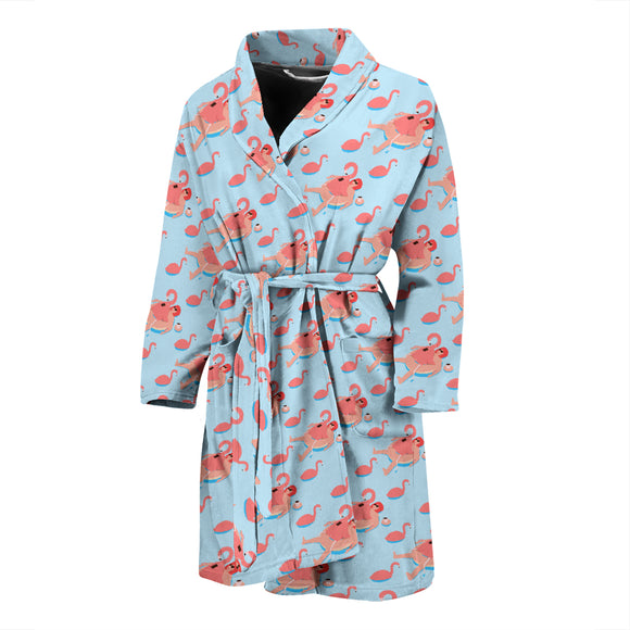 Flamingo MEN'S BATHROBE