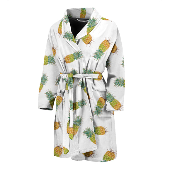 Pineapple MEN'S BATHROBE