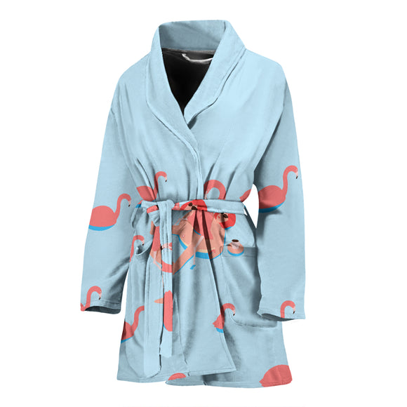 Flamingo V.2 WOMEN'S BATHROBE
