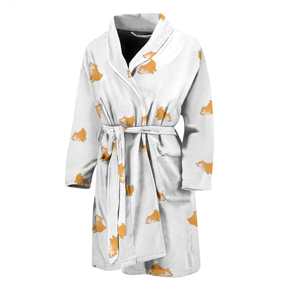 Shiba Dog MEN'S BATHROBE