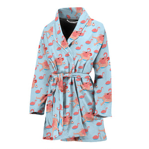 Flamingo WOMEN'S BATHROBE