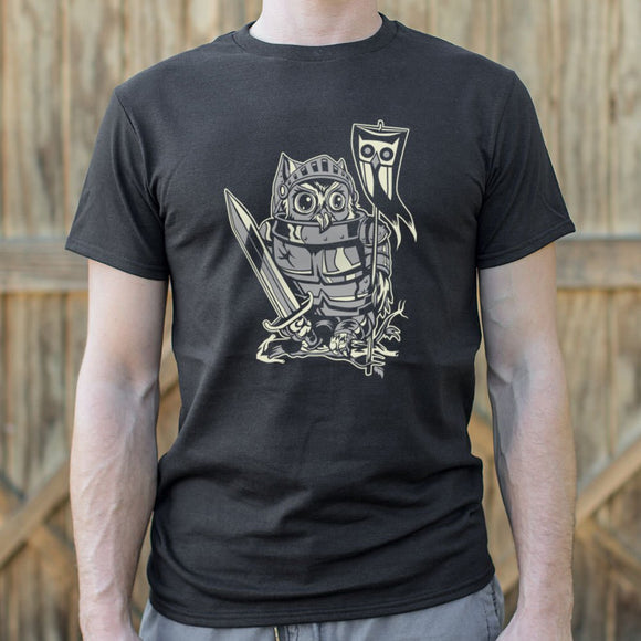 Mens Knight Owl T-Shirt