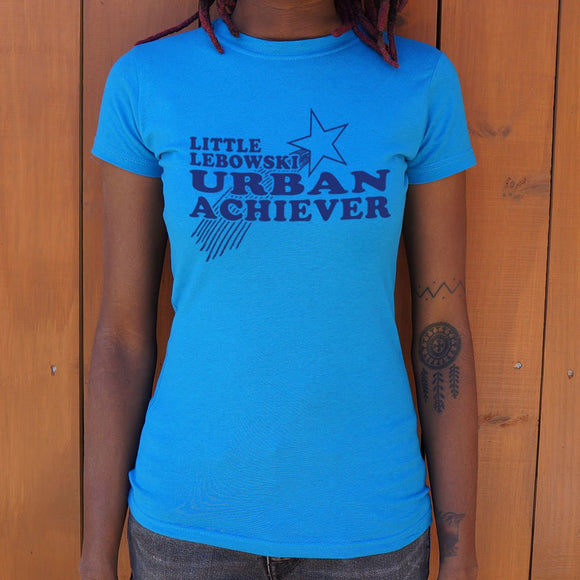 Ladies Little Lebowski Urban Achiever T-Shirt