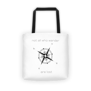 Not All Who Wander Tote bag