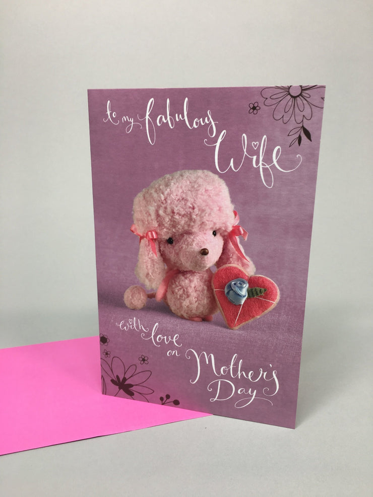Mother's day Wife Card