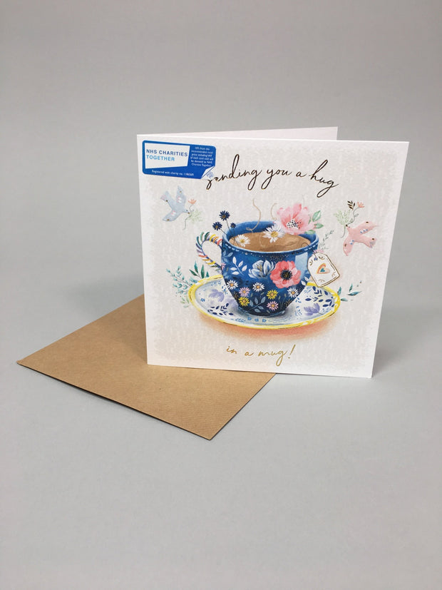 Hug in a mug card