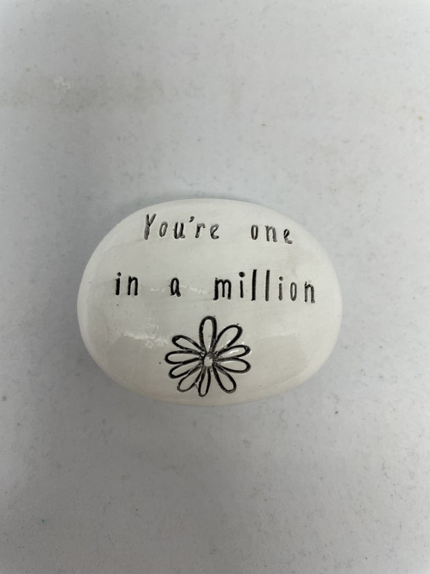 One in a million pebble