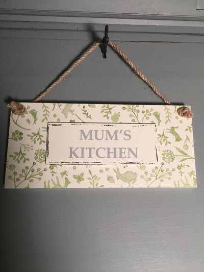 Mum's kitchen hanger