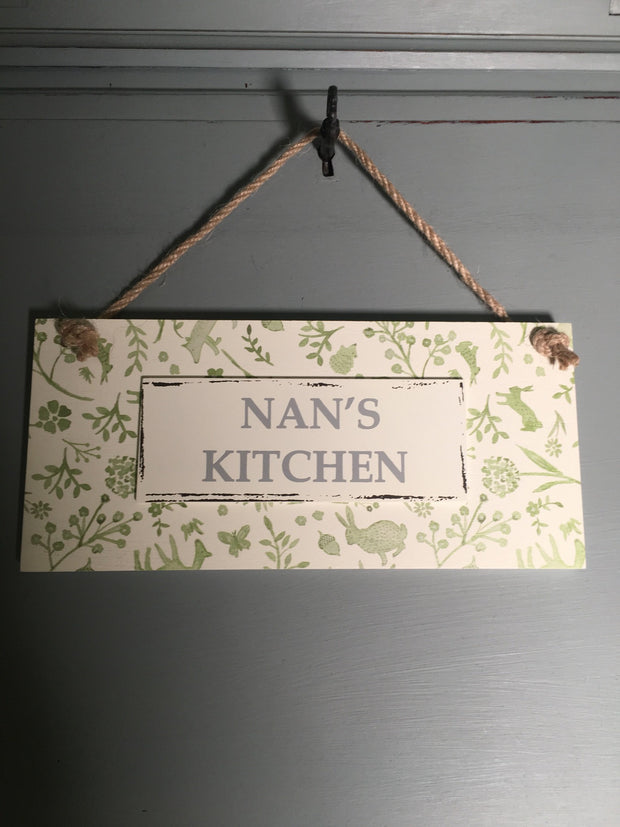 Nan's kitchen hanger