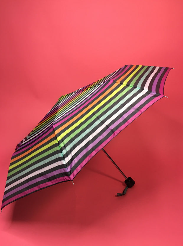 Rainbow stripe umbrella