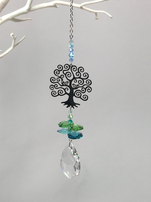 Small tree of life suncatcher