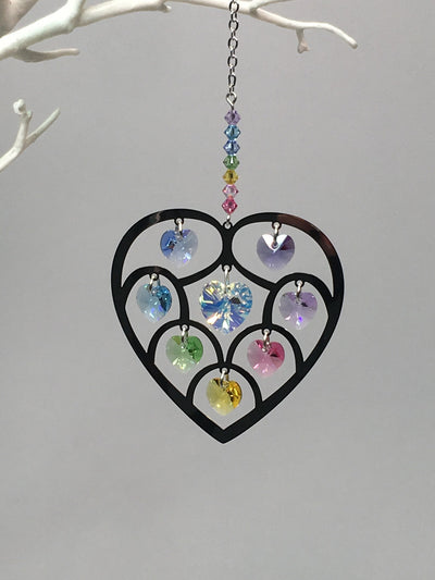 Heart of hearts suncatcher