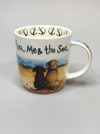You, me & the sea mug