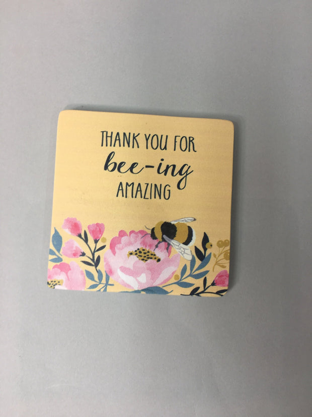 Bee-amazing coaster