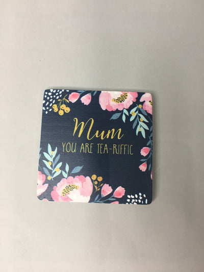 Mum - teariffic coaster