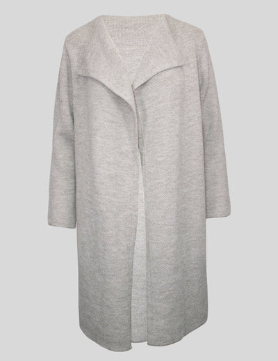MITZY Drape Front Long Cardigan