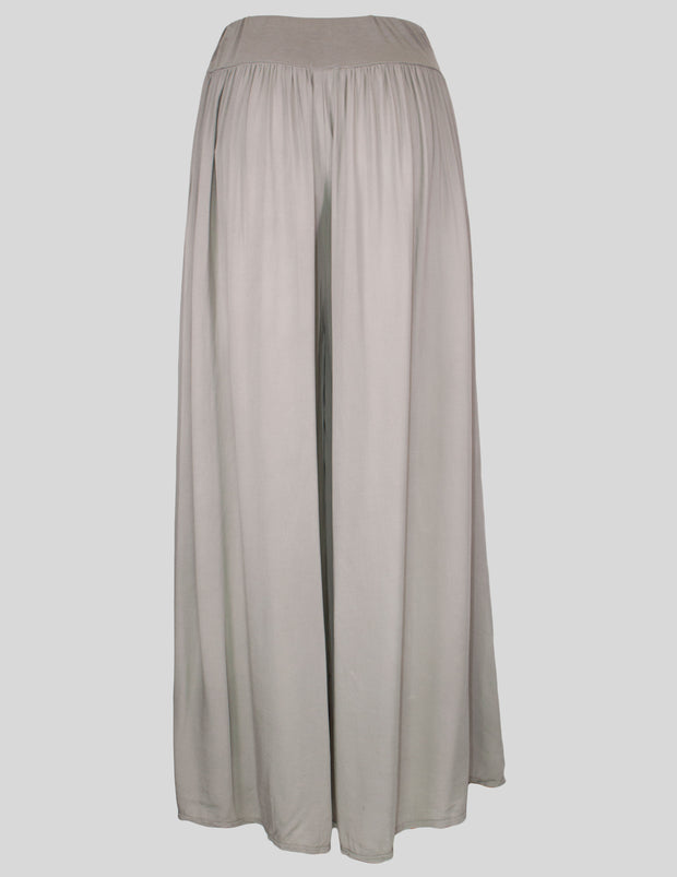 MITZY Wide Leg Plain Trouser
