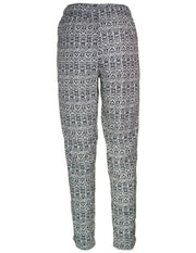 MITZY Mono Print Tapered Trouser