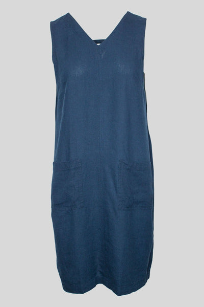 MITZY Sleeveless Linen Mix Dress