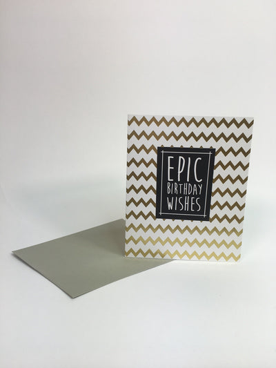 Epic Birthday Wishes Card