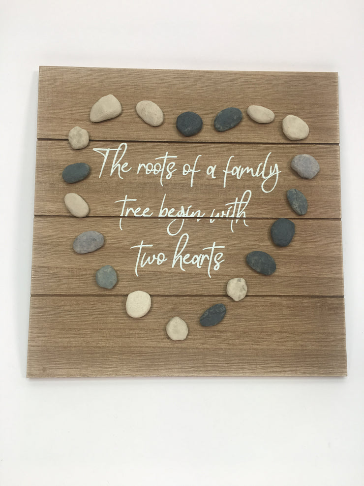 Family Pebble Plaque