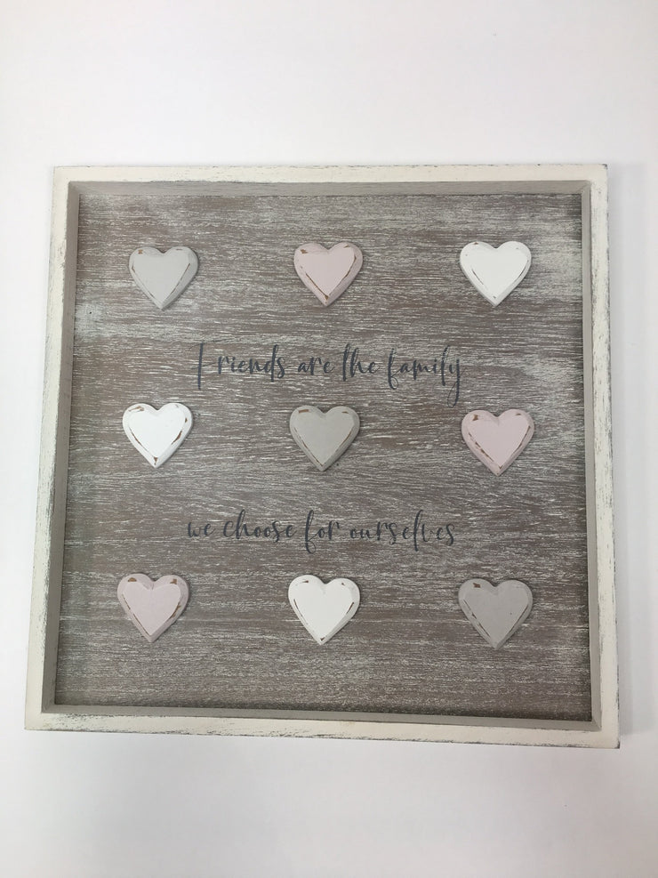 Friends Heart Plaque