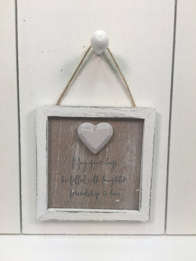 Friend Heart Hanger