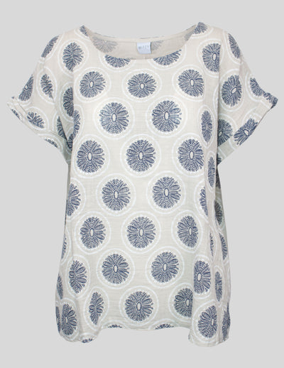 MITZY Dreamcatcher Print T-shirt